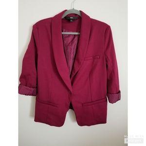 Dark pink (magenta) blazer jacket